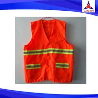 Fashion Cheap Nylon striped custom reflective safety vest