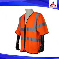 Class 3 Standard Mesh Safety Vest with Short Sleeves