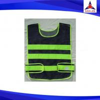 Black Reflective Safety Vest