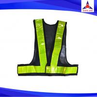 Light Safety Vest with Prismatic PVC Reflective Stripe for Traffic Safety