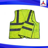 custom printed roadway high visibility wholesale safety vest