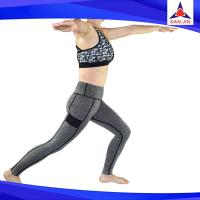 All in one neoprene hot body shaper slimming suit weight loss slimming pants  Material: Ne
