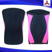 High spandex neoprene knee support weight lifting knee sleeve