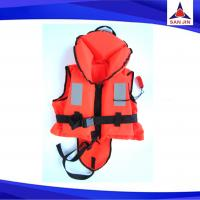 Orange color nylon  safety Life jacket Boating Vest