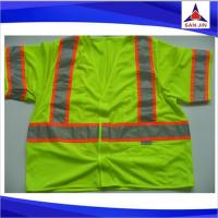 Roadway Work 3M Reflective Tape Vest Safety With Pockets