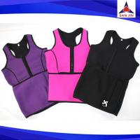 Neoprene Sweat Vest Neoprene Sauna Tank Top Vest with Adjustable Waist Trimmer